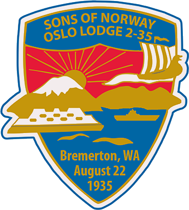 Bremerton Sons of Noway - Oslo Lodge 2-35