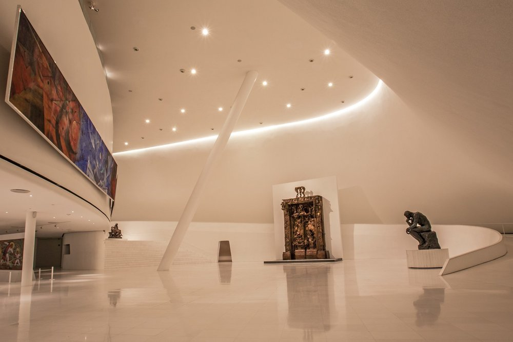 CONDE NAST TRAVELER - What to do in Polanco, Mexico City     Photo credit: Museo Soumaya