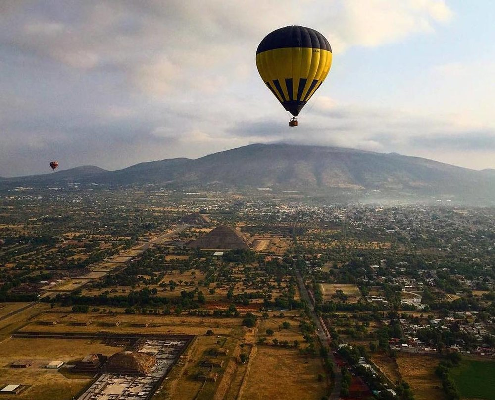 THE INDEPENDENT- Hot Air Ballooning over the Ancient City of the Sun     Photo Credit: Susannah Rigg