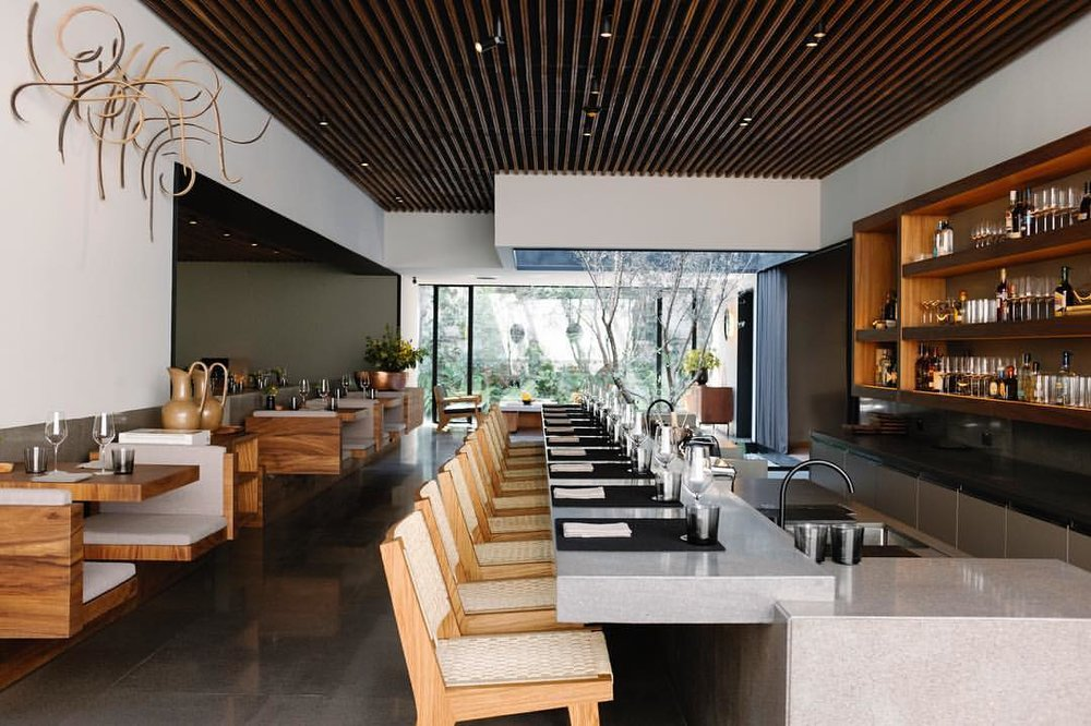 THE SPACES - 10 Mexico City Restaurants for Design Buffs    Photo Credit: Pujol