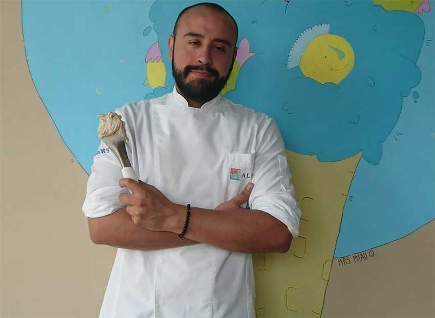 MEXICO NEWS DAILY - A Line Chef at Mexico's Top Restaurants Discovers his Passion is Gelato     Photo credit: JoeGelato