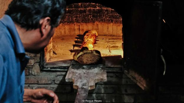 BBC TRAVEL - Mexico's Bread Baked for the Spirits     Photo credit: Roque Reyes