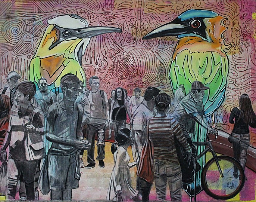 MEXICO NEWS DAILY - Mexico's Street Art Moves from Walls of the City to Walls of a Gallery     Photo credit: Jason Schell