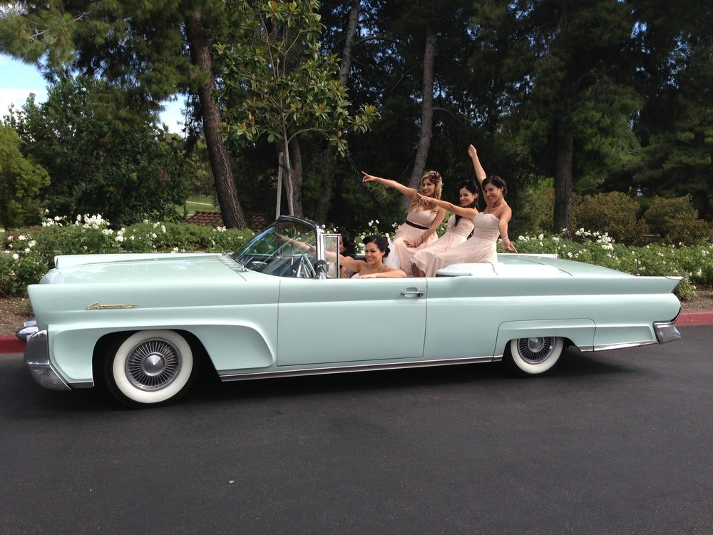 Classic Car Rental For Weddings San Diego