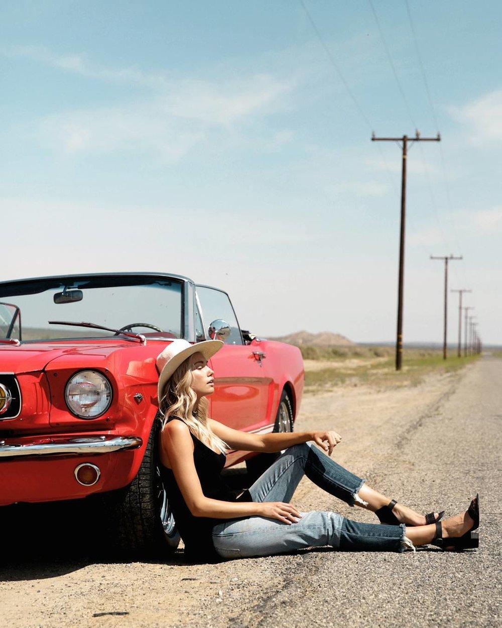 Vintage Car Photo Shoot