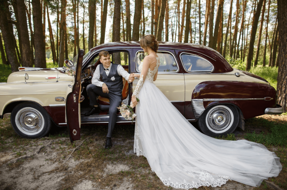 5 Best Classic Cars for Your Wedding — Vinty | Classic Car Hire Service