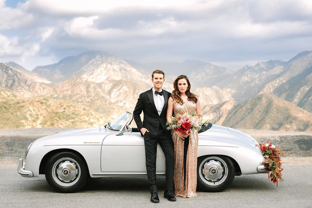 Classic Car Rental Los Angeles Wedding