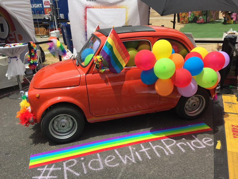 Uber Activation for Los Angeles Gay Pride