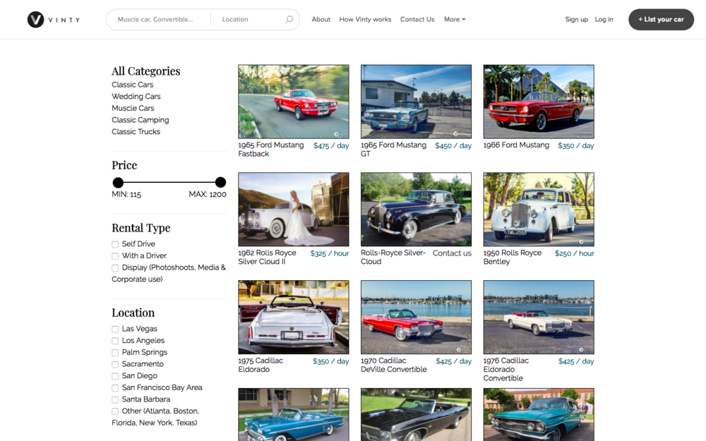 self drive vintage classic car rentals luxury exotic vinty rh drivevinty com