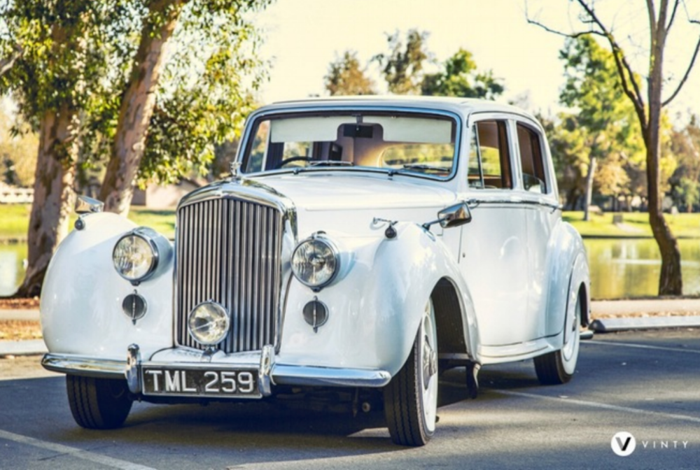 1950 Bentley Mark VI - This air-conditioned Mark VI is the epitome of 1950's luxury. Make an unforgettable arrival with the included red carpet if you wish!