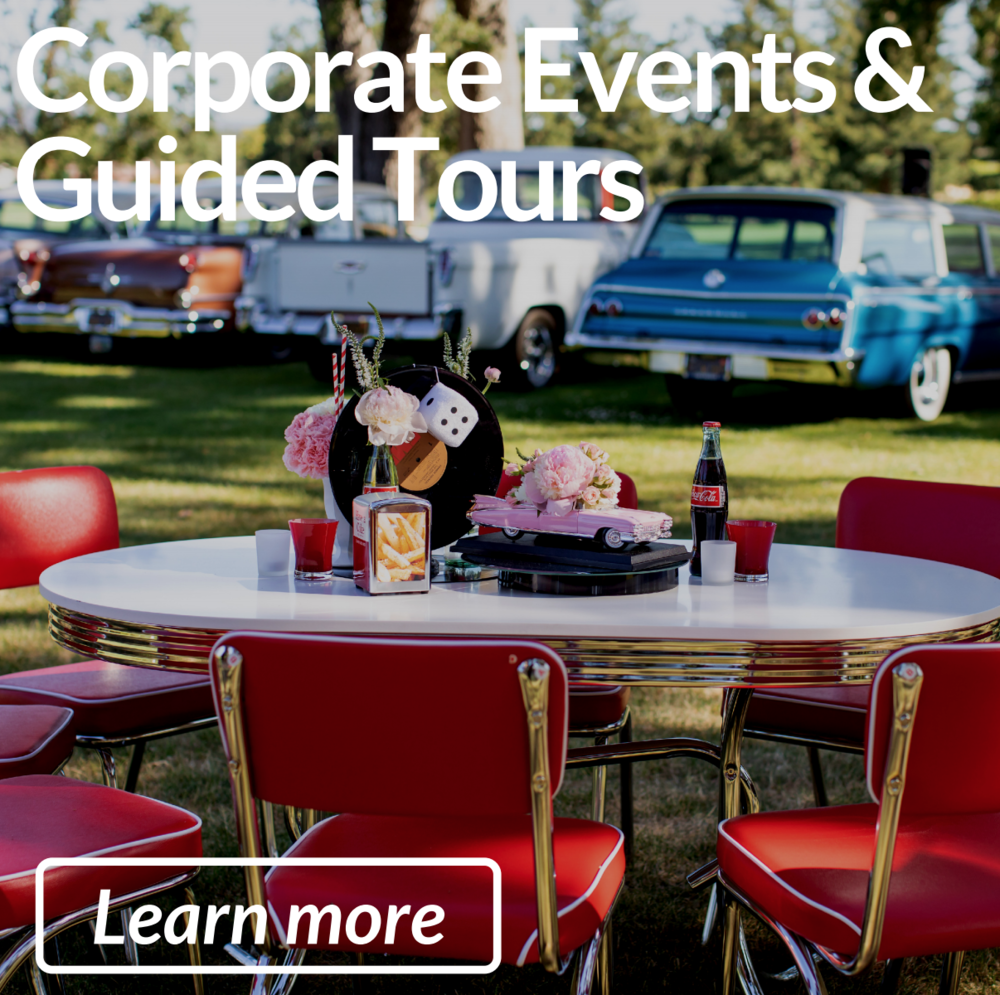 Corporate Events & Guided Tours