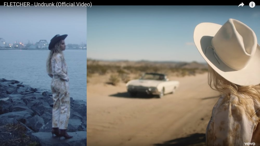 Music video: Fletcher - Undrunk - Check out Joe's 1962 Thunderbird in this Pop Music Video shot in the Joshua Tree desert.
