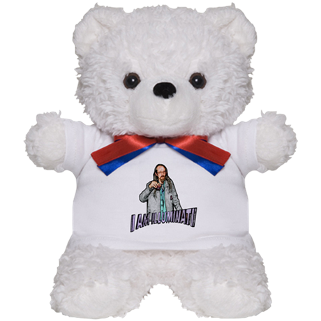 "BIJANS ""I AM ILLUMINATI"" TEDDY BEAR"