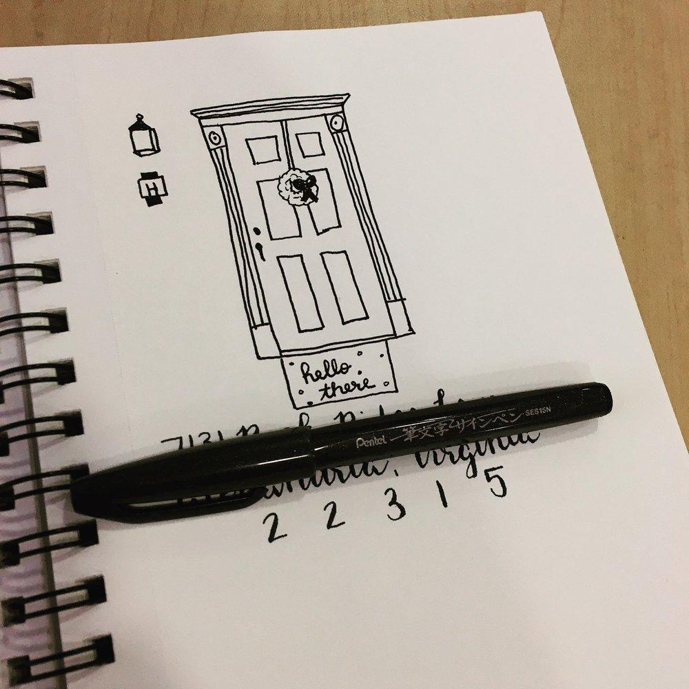 Front Door Rough Sketch.jpeg