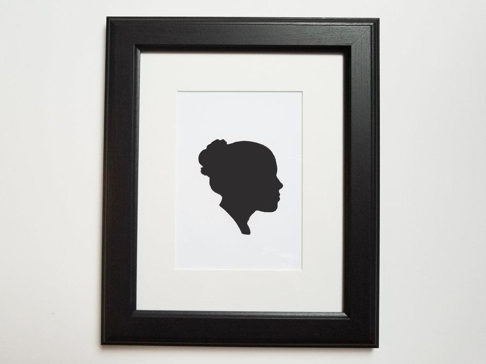 Girls Face Shadow Silhouette Gift.jpg