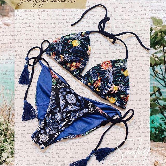Skyflower 🌸 @aguabenditaswimwear