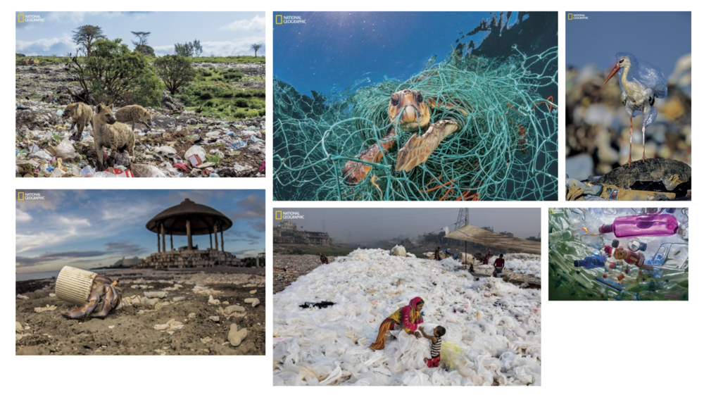 Plastic Pollution: Images of a Global Problem, National Geographic