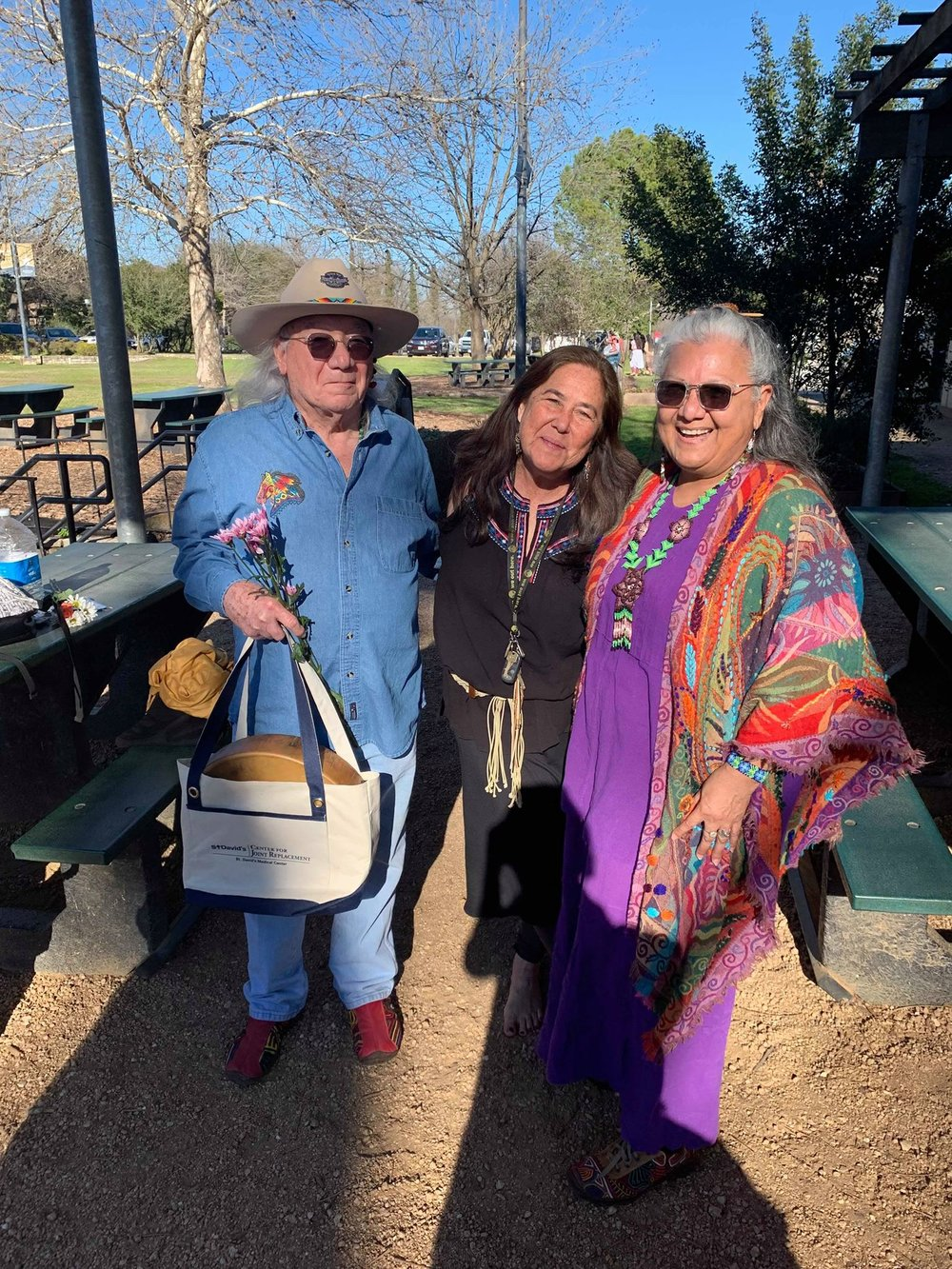 What made this blessing special was the way Cheryl shared space with our Coahuiltecan elders. -