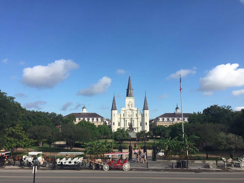 Jackson Square, New Orleans (photo by Kelly Marinelli)