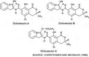 ochratoxin-chemical-structure