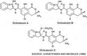 ochratoxin-chemical-structure