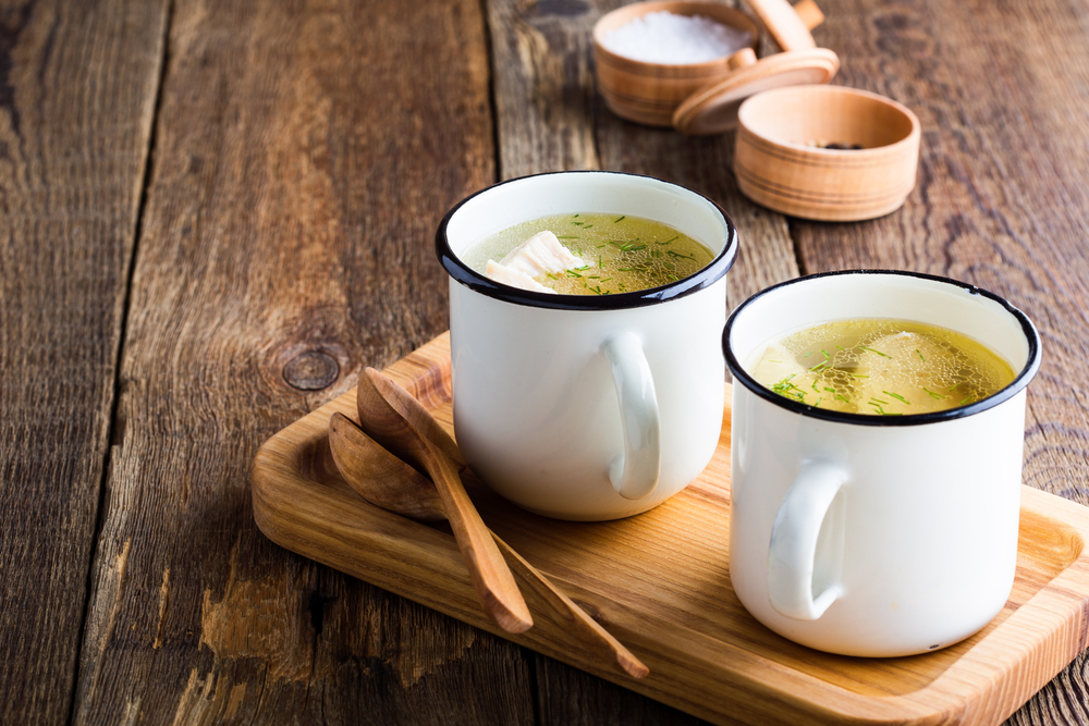 Bone broth provides the gut with easily-assimilated amino acids that can be used to repair intestinal damage induced by mycotoxins.