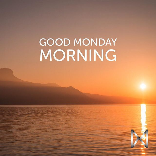 Let's all have a great week. Happy Monday morning to everyone.