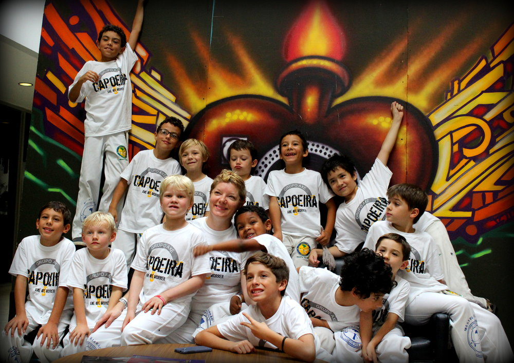 Maezinha / Julie Ragland    Head Kid's Class Instructor, Axé Capoeira Tucson