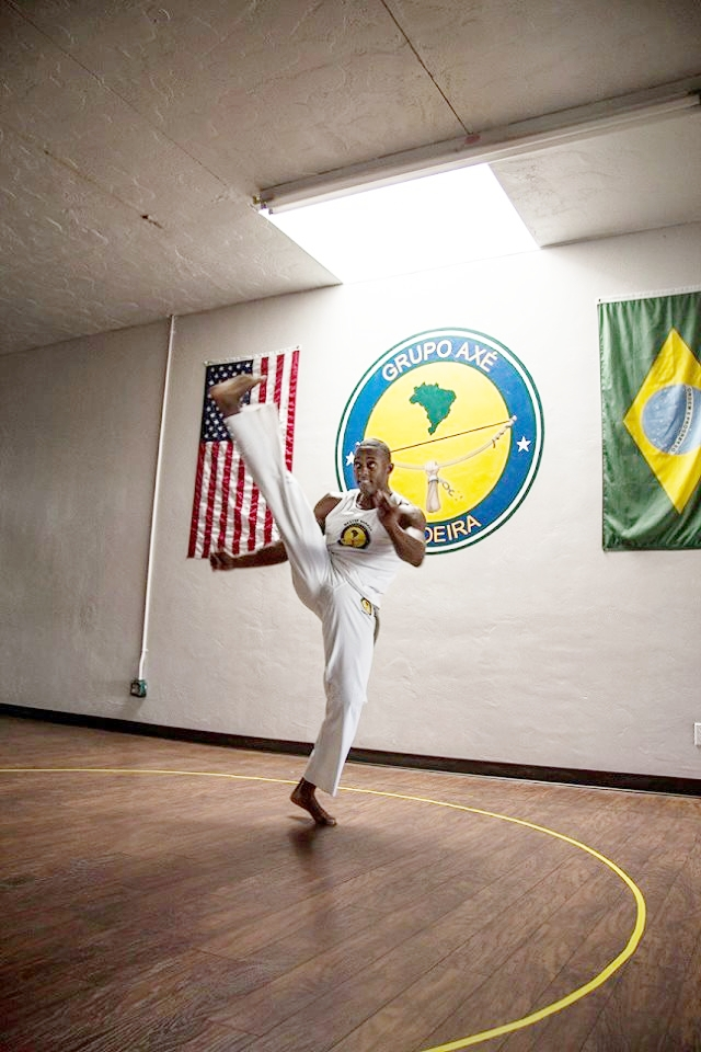 Instrutor Sombra / Aquil Joel Hameed Founder & Head Instructor, Axé Capoeira Tucson