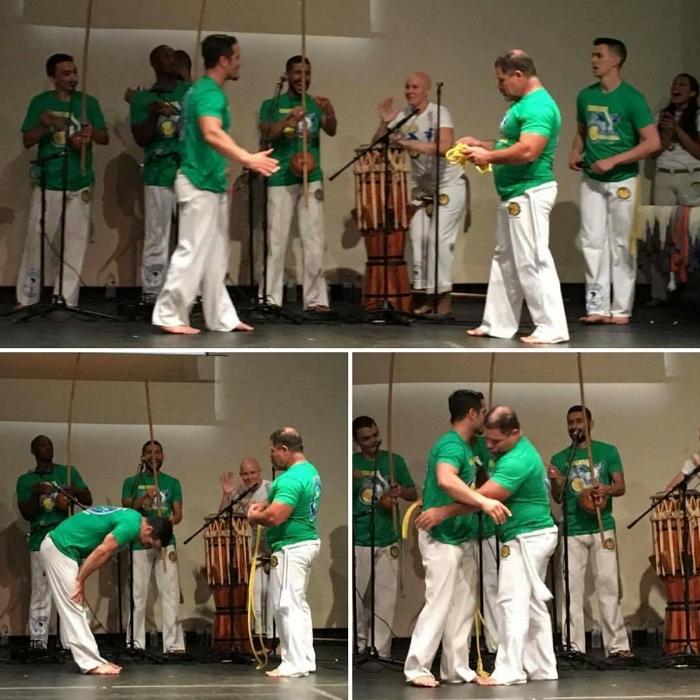 Professor CABELO - Leader of Axé Capoeira Turkey