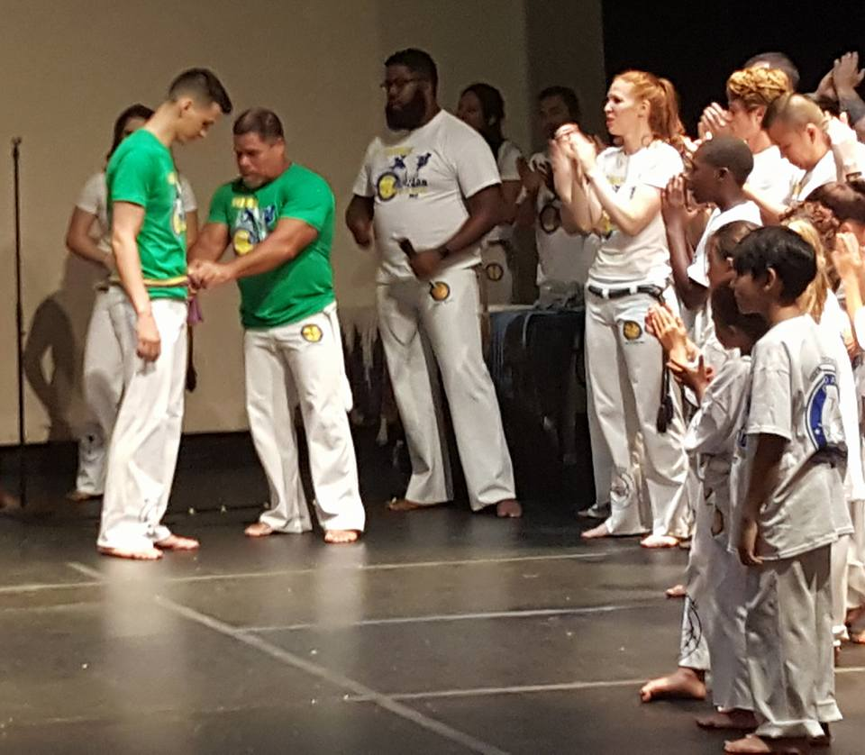 Professor BAMBU - Leader of Axé Capoeira Chicago