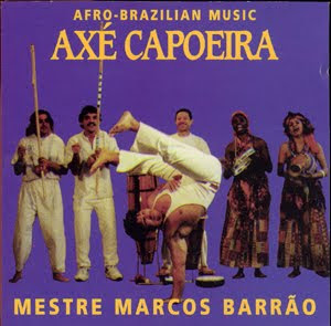 Contra-Mestre Camara on the cover of Mestre Barrao VOLUME 1 CD