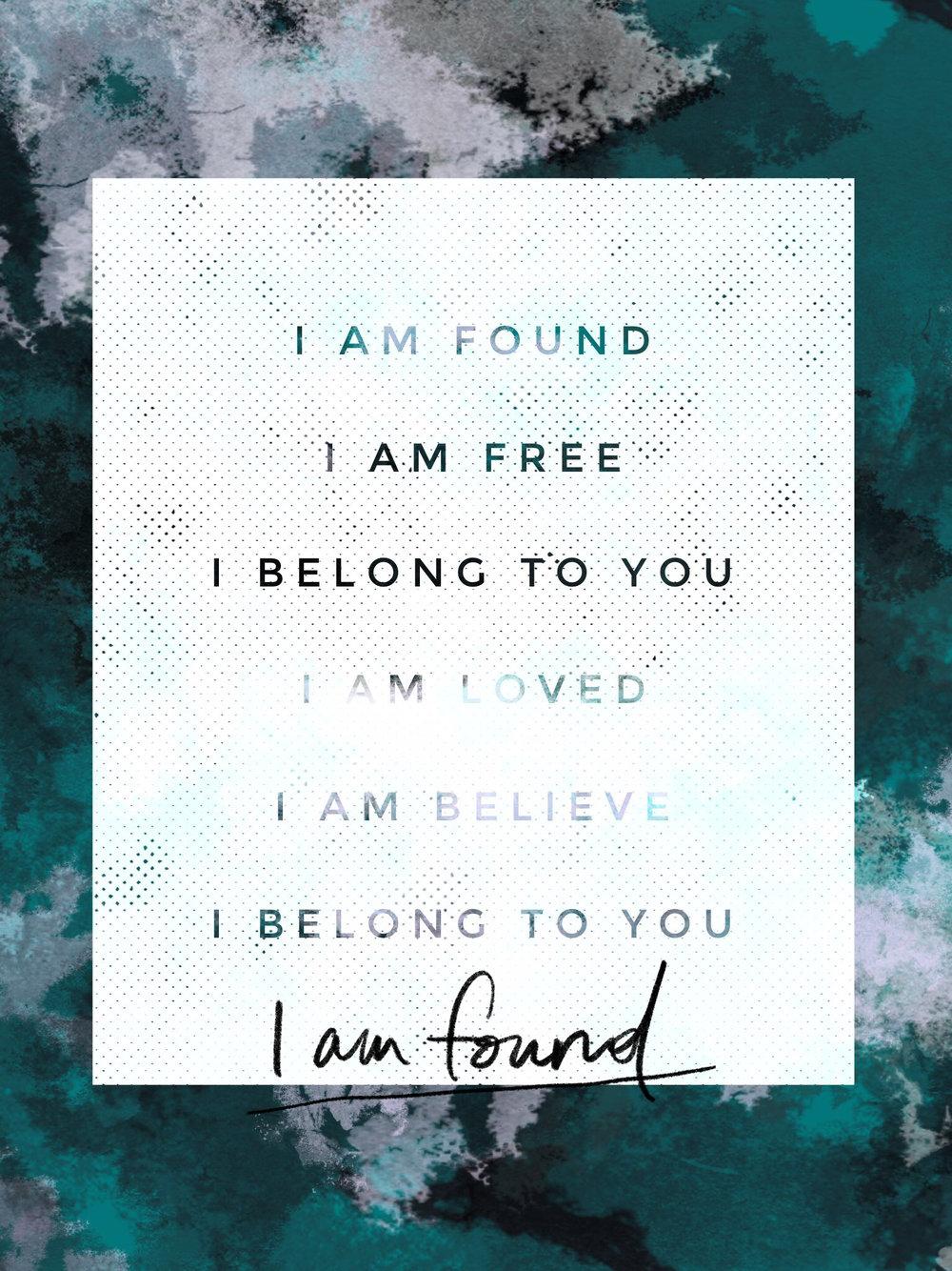 I Am Found - Social 2