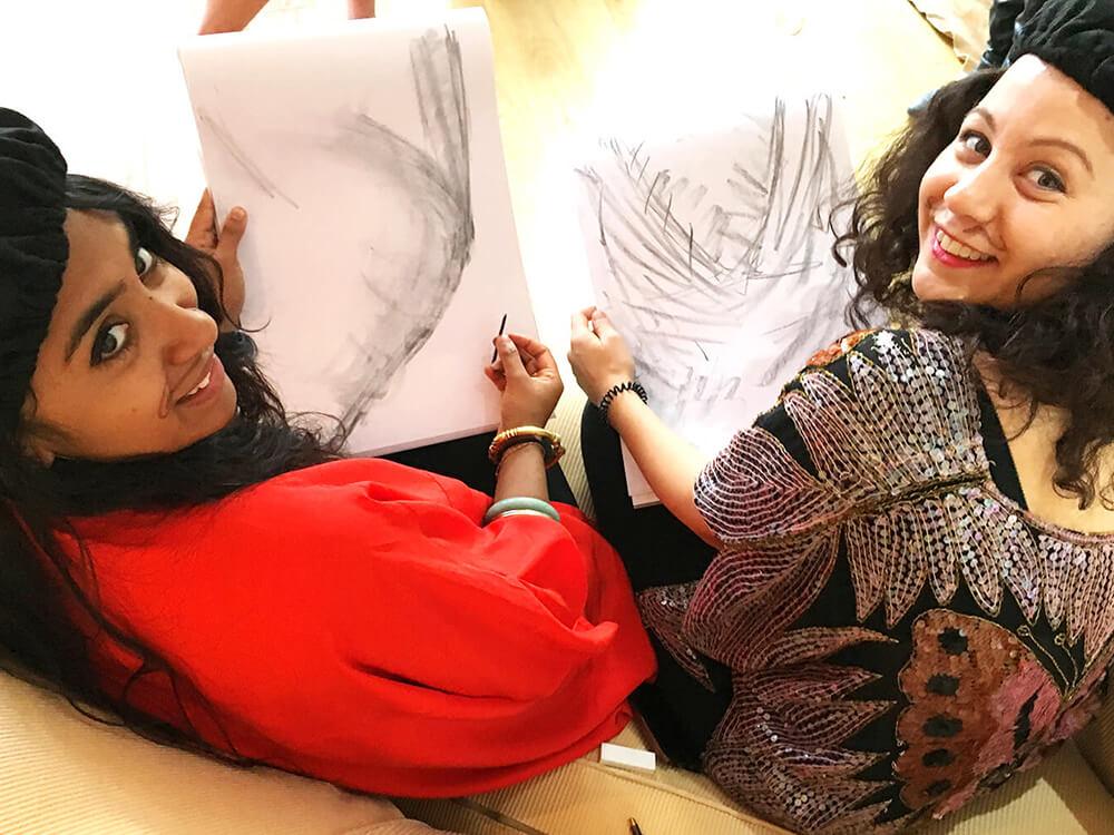 Buff Drawing | Creative art parties