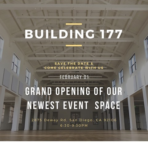We got an old library and made it a beautiful event space @bldg177. When we do something new, we party cause why not celebrate your accomplishments. Come celebrate with us!  3 bars, food, cool designs from local vendors, lots of good times. #sandiegoevents #party #libertystation  Design: @lunawilddesign Florals: @layeredvintage Bar: @monikergeneral / @barcon_ / @snakeoilcocktail Food: @amihoexperience / @mastiffsausagecompany + more Rentals: @witty_rentals / @powwowdesignstudio / @adorefolklore Photo booth: @amigobooth Photography: @gantes.co DJ: @pacificentertainment