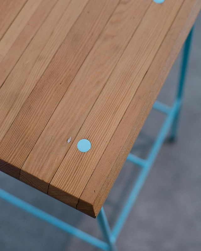 Stool with style. Custom color bar stool.