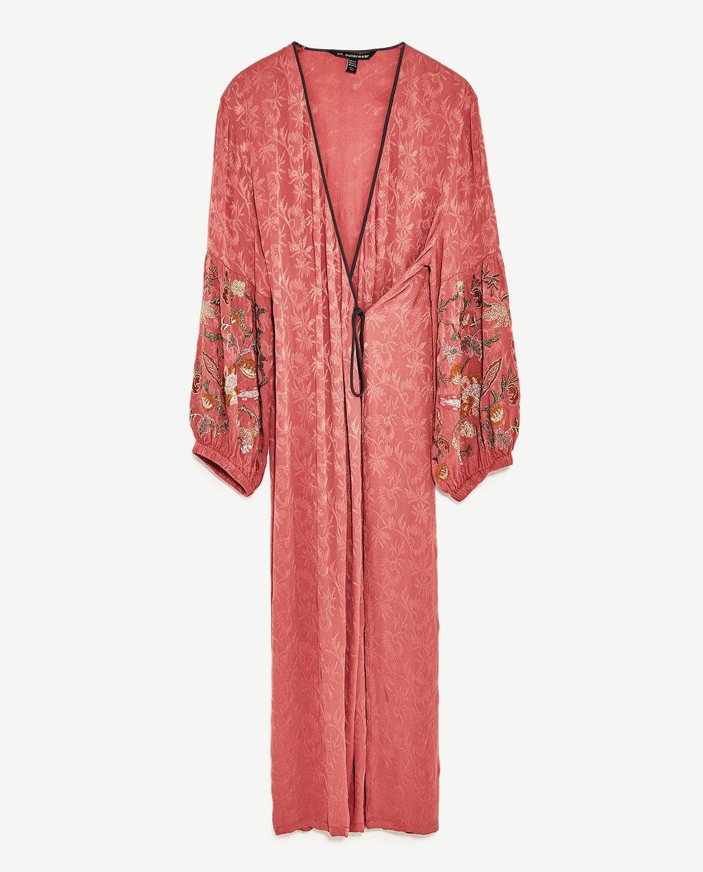Zara Kimono w/ full sleeves: $149.00