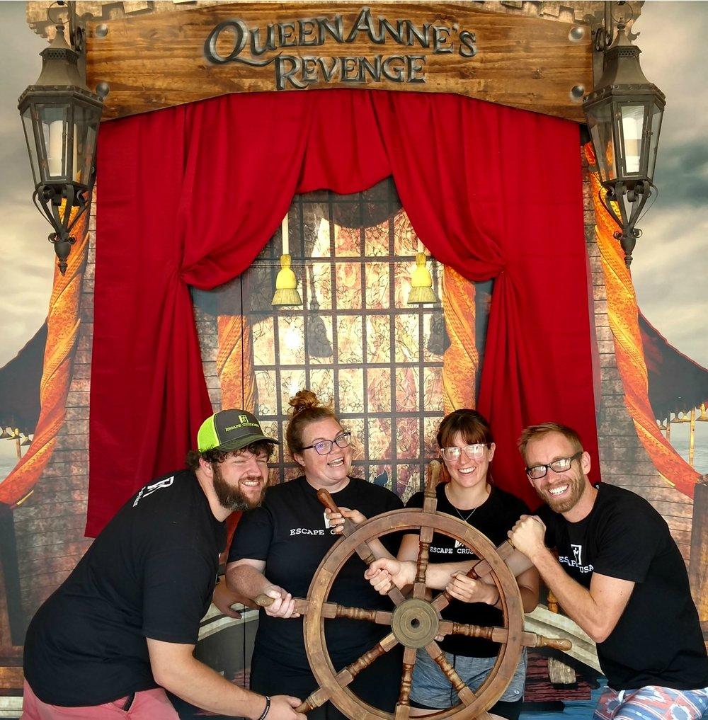 Escape Our Rooms Blackbeard's Brig