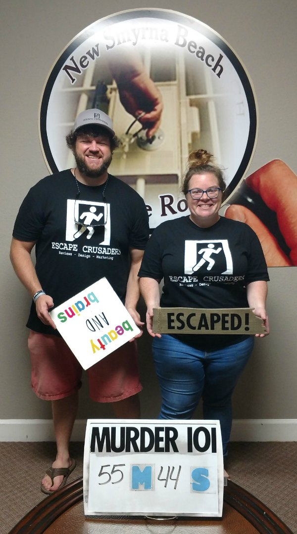 Murder 101 Escape Room Review