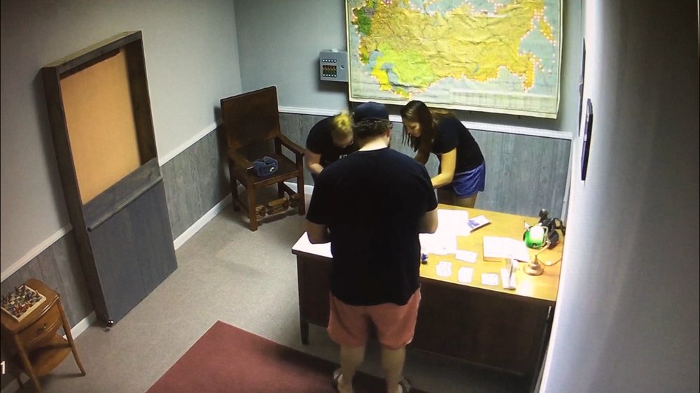 Crusaders Finding Clues at  Cold War Escape  Check out our  COLD WAR REVIEW HERE