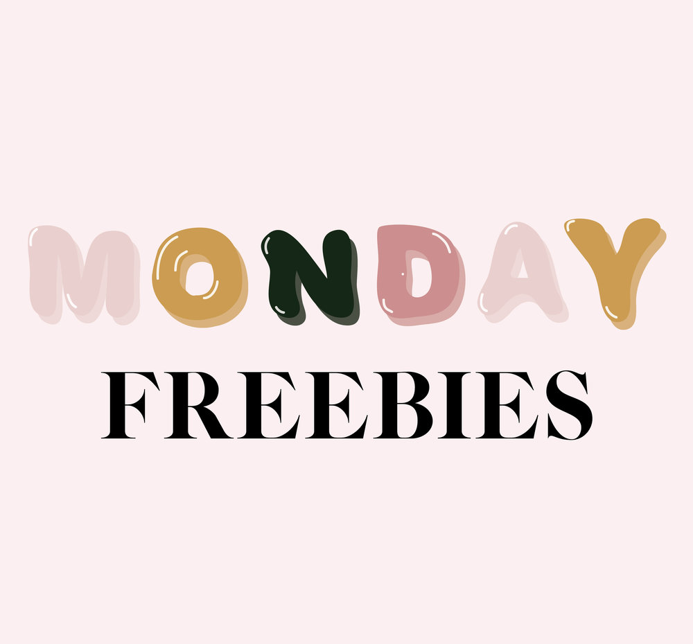 Monday Freebies on The Mod Collective
