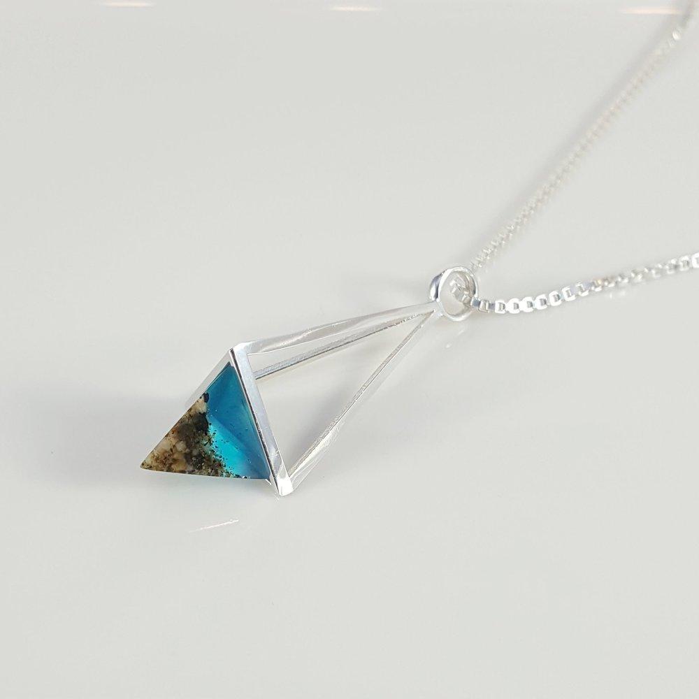 Beach Sand Prism Pendant