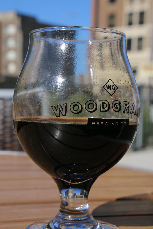 Coffee Vanilla Stout at Woodgrain Brewing Co.