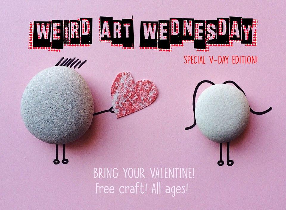 Weird Art Wednesday at JAM Art & Supplies