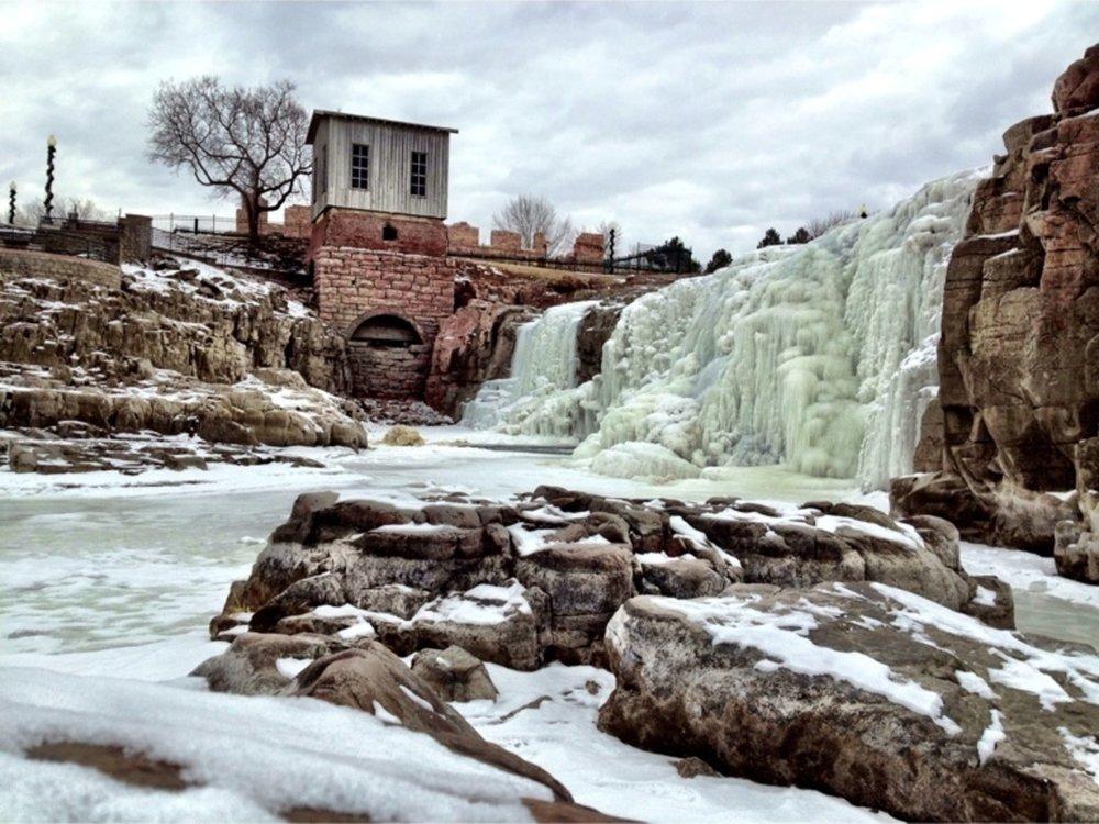 Winter at Falls Park