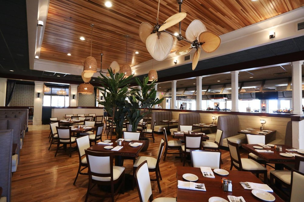 The dining room at Turks & Caicos Cabana Grille. Photo credit: Turks & Caicos / Facebook