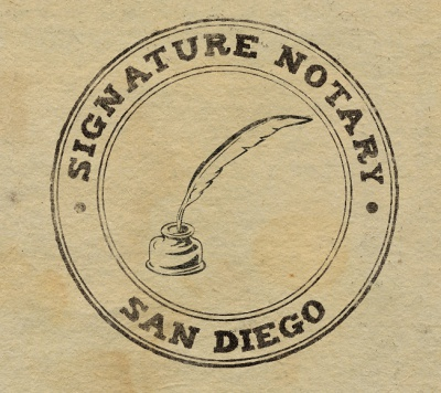 Signature Notary San Diego. All Rights  Reserved 2015    New.jpg