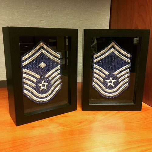 Us Air Force Smsgt Custom Frames Of Charleston