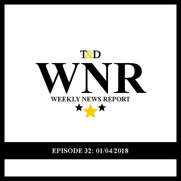 Episode 32 -     This week, Fire and Fury! A new tell-all book leads the White House to war with its author, publisher, and his former campaign CEO Steve Bannon. We'll talk about what's in the new book, how the White House is responding, and what the Bannon Trump Break Up means for Trump's base.    Then, we talk Foreign Policy. China and Russia pounce after America leaves the Trans-Pacific Partnership, Iran erupts in protests, Palestine and Pakistan of edge because of the President's tweets, and, unlike his tweet at Kim Jong Un, those tweets didn't even threaten nuclear war!     Finally, coming back from the holidays, we'll do a lightning round to catch you up on all the news we missed while we were gone, and end as always with Stuff We Wished We Could Have Talked About.