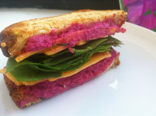 Pink Stuff (Beet & Sunflower Seed Spread) (image T. Freuman)